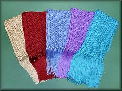 One skein scarf to crochet