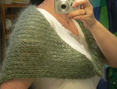 48 hour mohair shawl