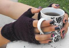 Short n Sweet Fingerless Mitts