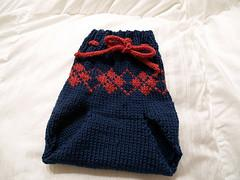 Wool Diaper Cover (Soaker) - Knit