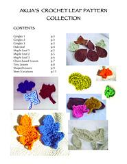 Akua's Crochet Leaf Collection