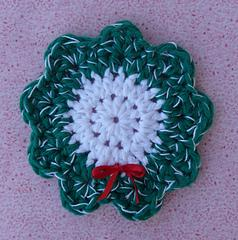 Christmas Wreath Coaster