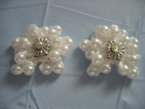 Pearl star hair ornaments