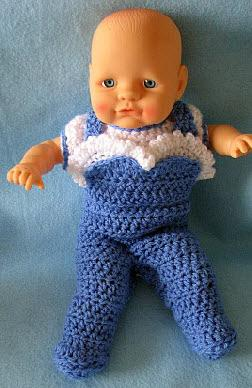 15 Adorable Crocheted Doll Clothing Patterns | 388x252