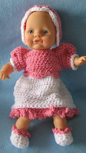 Patternlinks Free Crochet Patterns Children Doll Clothes
