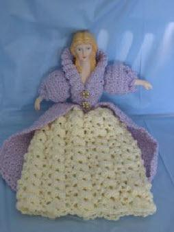 Lavender bed doll