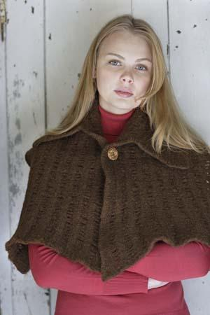Felted Capelet