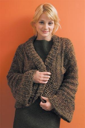 Patternlinks Free Knitting Patterns Clothing Boleros