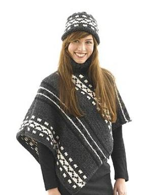 Alaska Poncho and Hat: Womans Version