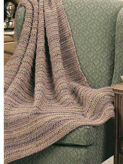 PatternLinks.com - Free Knitting Patterns | Home Decor » Throws