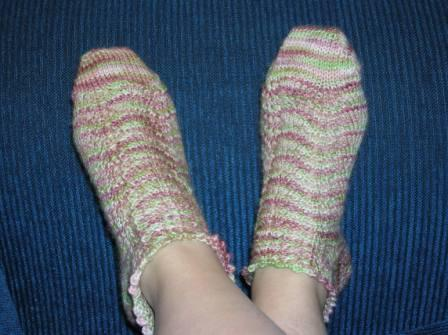 Antique Rose Socks