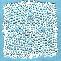 July's Tablecloth Doily