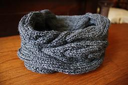 Blue Pine Snood