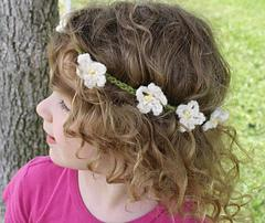Fairy Princess Daisy Chain Crown
