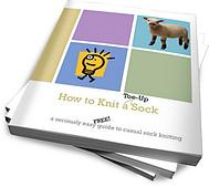 How to Knit Toe-Up Socks: An instructional pattern eBook