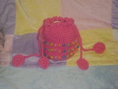 Beaded Easter Bag