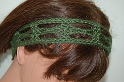 Lacy Diamonds Headband - free