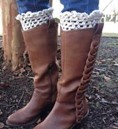 Looking Spiffy Crochet Boot Toppers