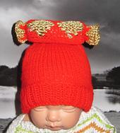 FREE Baby Christmas Cracker Beanie Hat