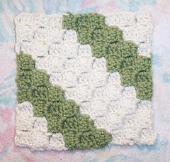 Free SmoothFox's Diagonal Box Stitch Square 6x6
