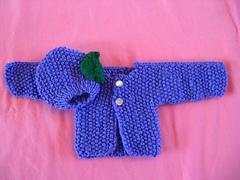 Preemie Knit Sweater