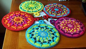 Cat Potholders - Free Crochet Pattern for Cat Potholders
