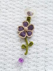 Pacifier Clips: Flower