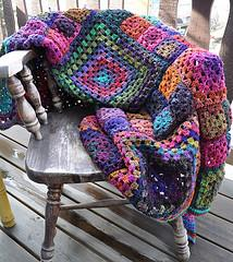 'Granny's a Square' Afghan