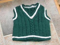 Baby Wool Ribbed Vest