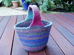 A Petite Felted Bag
