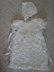 Free Pattern Christening Gown