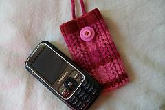 Lacy Cabled Cell Phone Cozy