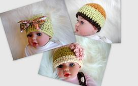 FREE pattern Adorable Beanie Hat