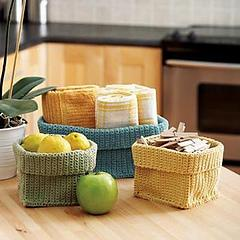 Clutter Control: Stash Baskets