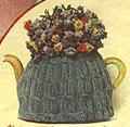 Cabled Tea Cosy from 1946