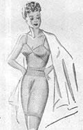 Lady's Vest and Knickers 1944