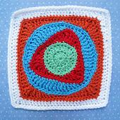 "Child's Play 9"" Afghan Square"