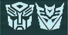Autobot-Decepticon Matched Charts