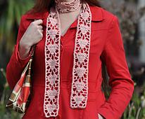Crochet Heart Scarf