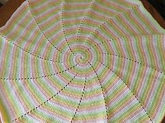 Free SmoothFox's Four Color Spiral Blanket