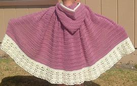 Free Crochet Pattern Child s Hooded Cape : PatternLinks.com - Free Crochet Patterns Clothing Ponchos