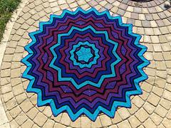 SmoothFox's  Stained Glass Round Ripple 6 to 24 Points