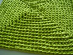 Crocheted Square Washcloth