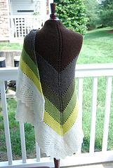 Transition Stash-buster Shawl