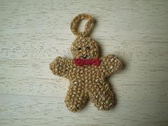 Advent Garland 18, Gingerbread Man