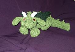 Ash the Dragon Amigurumi