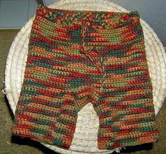 Little Fire Crochet Pants
