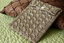 Cabled iPad Sleeve