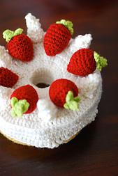 Angel Food Cake Amigurumi